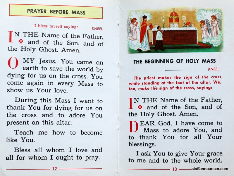 Steve cichons staffannouncer pre vatican ii missal if you have photos objects or just some wonderful memories about your church that youd like to share dont hesitate to e mail us here at thecheapjerseys Images