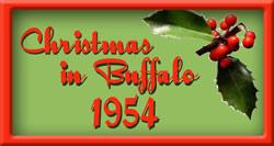 Christmas in Buffalo 1954